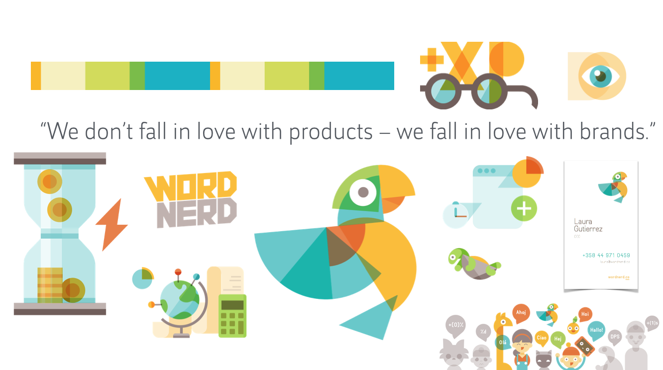 Case WordNerd: Building a brand for a startup