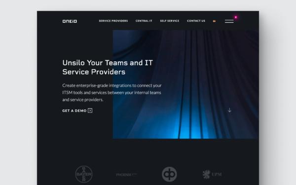 Oneio WordPress Website