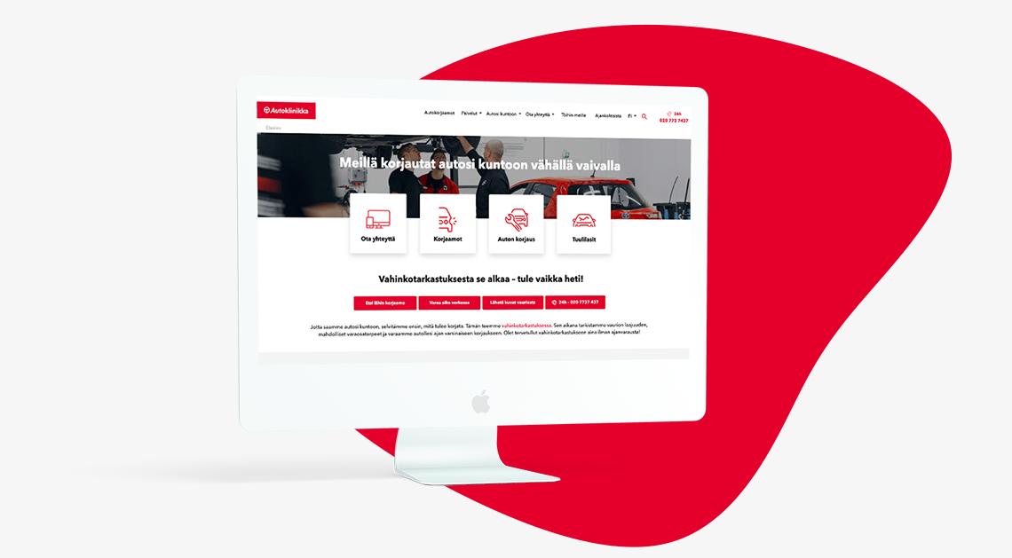autoklinikka-wordpress-website-imac