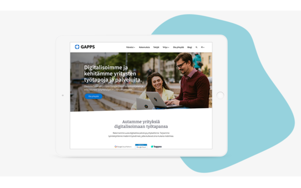 gapps-wordpress-website