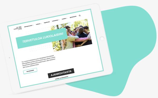wordpress-website-union-lukio