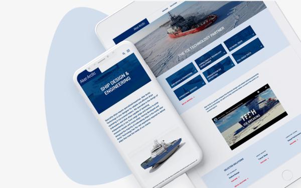 wordpress-verkkosivut-aker-arctic