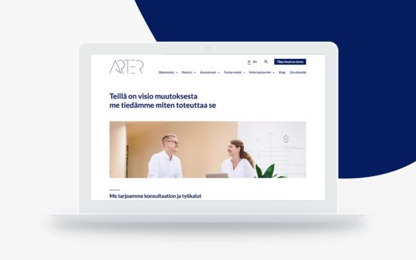 Arter-WordPress-verkkosivut