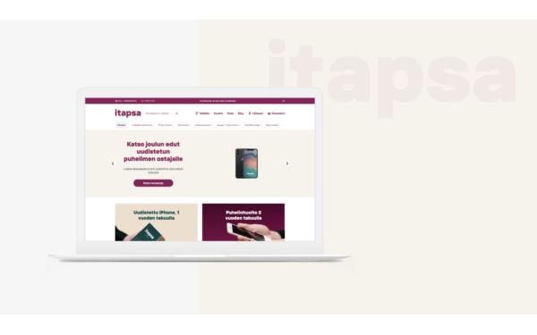 iTapsa's customised WooCommerce online store