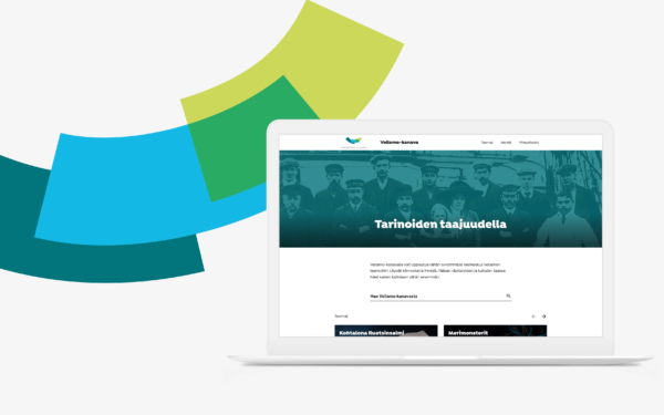 Vellamo's React and WordPress based online services