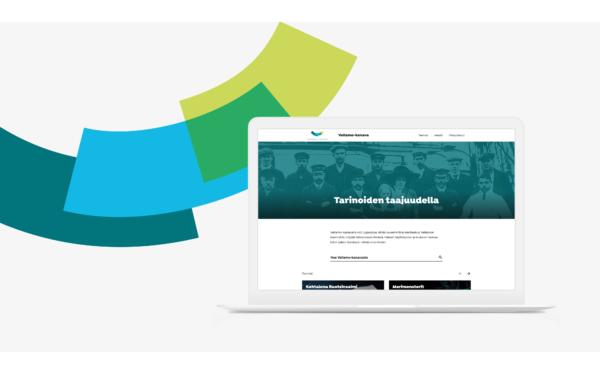 Vellamo-kanava WordPress-verkkosivusto