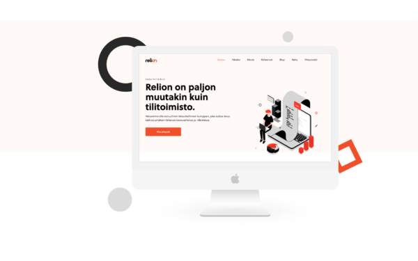 Relion's new WordPress website