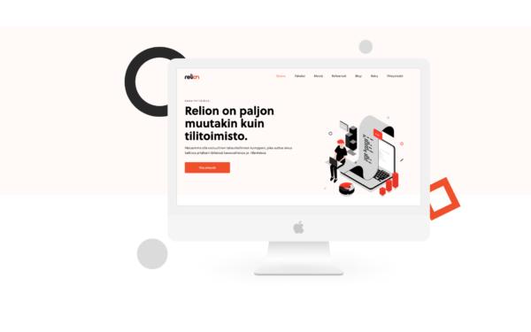Relionin WordPress verkkosivut